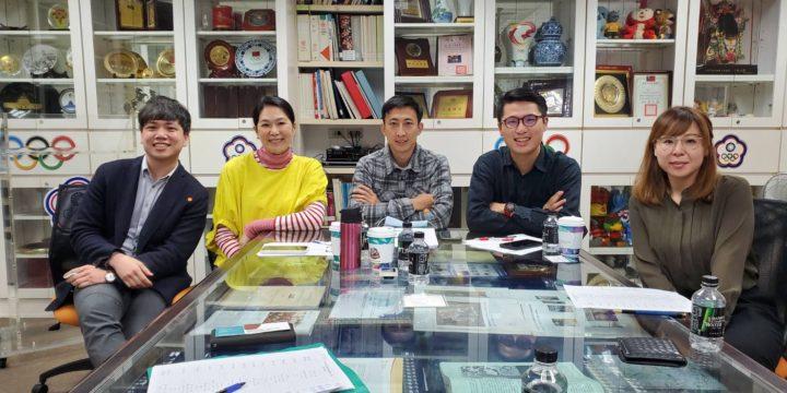 遠邦與奧運金牌國手陳怡安及朱木炎見面
