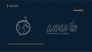 louis logo 設計